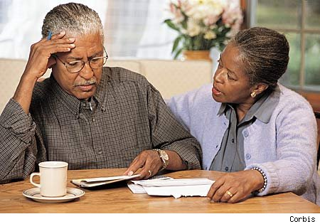 Older-Black-couple-ponder-Alzheimers-by-Corbis, Blacks twice as likely as whites to develop Alzheimer's, National News & Views
