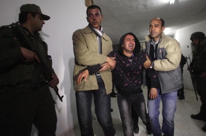 Arafat Jaradat, 30, tortured to death in Israeli prison 0218-2313 by AFP