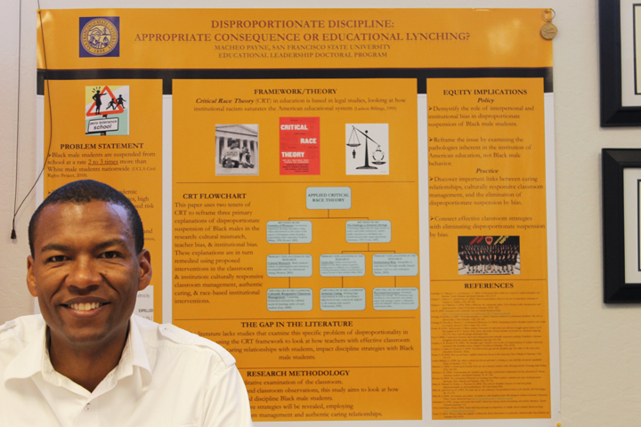 Dr.-Macheo-Payne, Dr. Macheo Payne: Challenging teachers to commit to Black male students' learning, Culture Currents