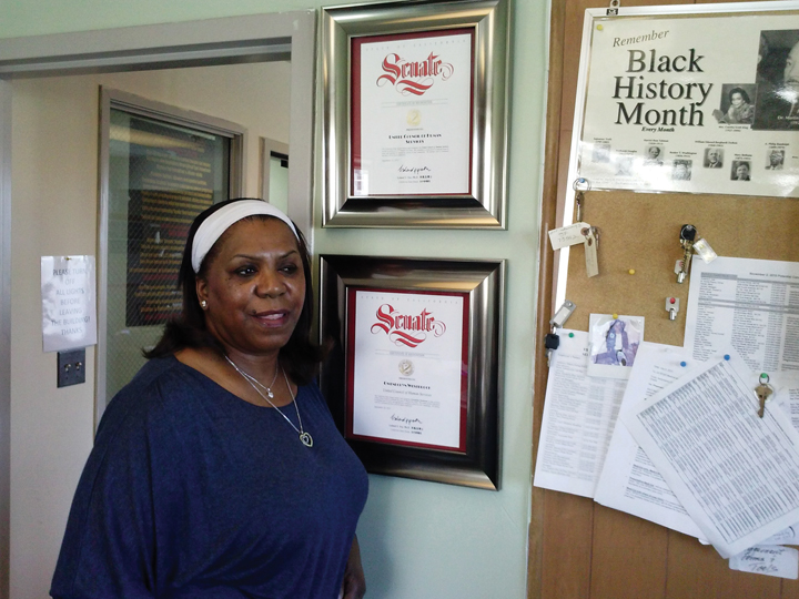 Gwendolyn Westbrook CEO Mother BrownGÇÖs Kitchen and Drop-In Resource Center 0413 by Betty McGee