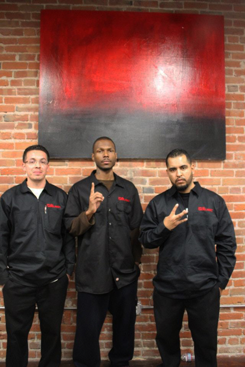 Juan Ruiz, Malcolm Shabazz, Miguel Suarez
