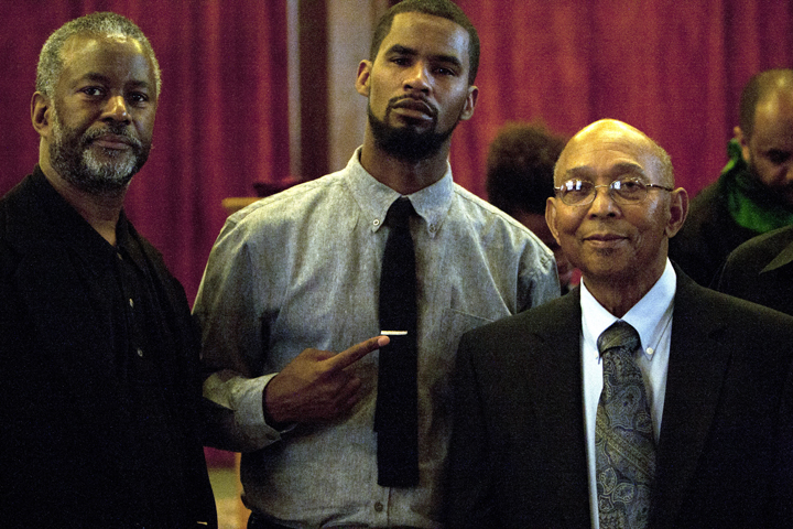 Malcolm-Shabazz-funeral-Ronald-Colthirst-Amir-Hassan-of-UCB-AA-Studies-Dept.-Willie-Ratcliff-051713-by-Malaika-web, In loving memory of El Hajj Malcolm Latif El Shabazz, Local News & Views