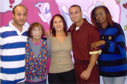 Robert Saleem Holbrook and family 2009
