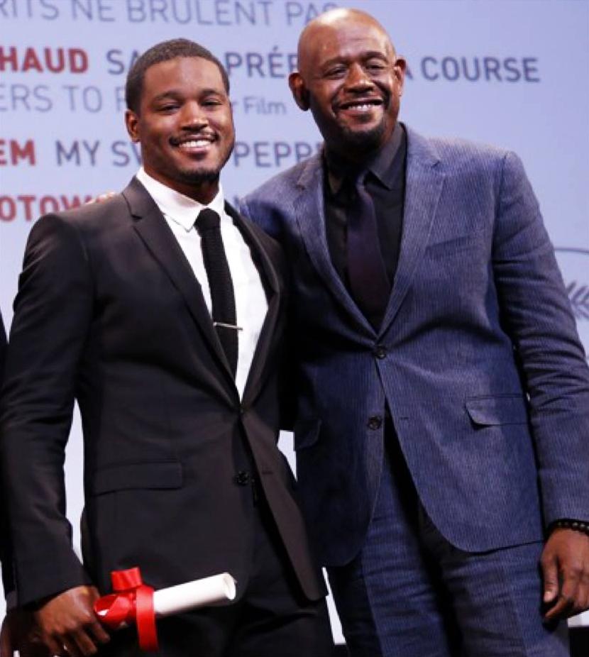 Ryan Coogler, Forest Whitaker accept Un Certain Regard Future Prize at Cannes Film Festival 052513