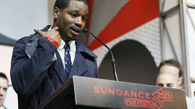 Ryan Coogler accepts grand jury prize Sundance Film Festival 012613 by Danny Moloshok, Invision