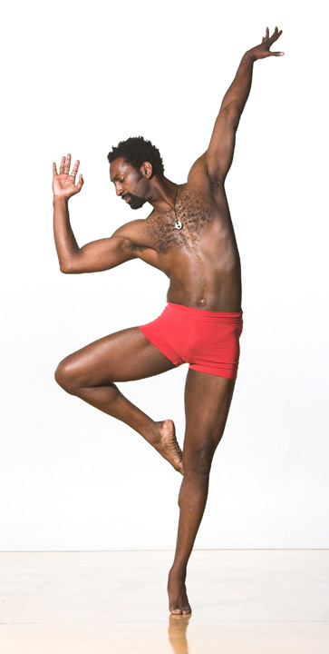 Antoine Hunter, founder, artistic dir Urban Jazz Dance Co 032010 by Matt Haber