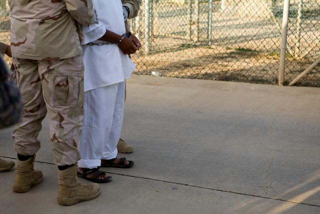 Guantanamo Bay prisoner, guards by Lincoln Else, NGT