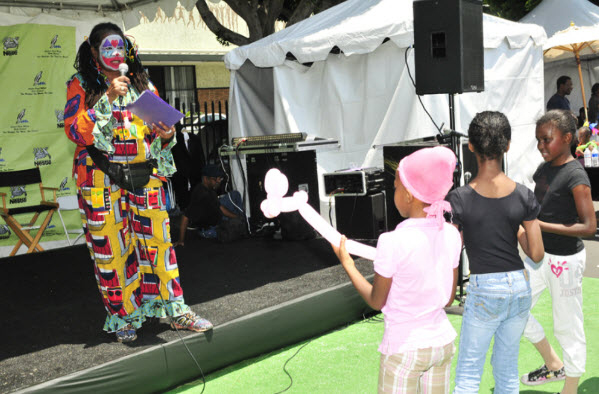 Leimert Park Book Fair children