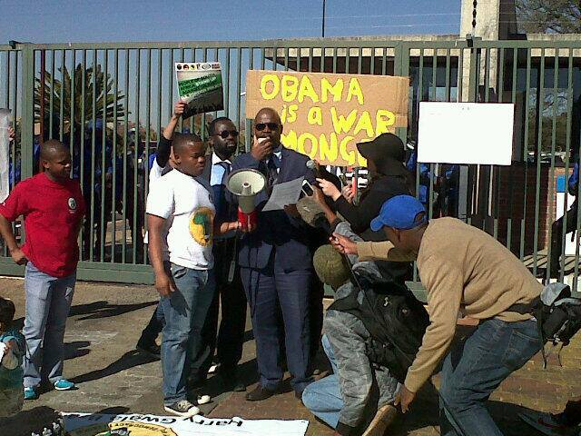 NObama-Coalition-Johannesburg-South-Africa-press-conf-062213, NObama! South Africans prepare to protest Obama visit, World News & Views