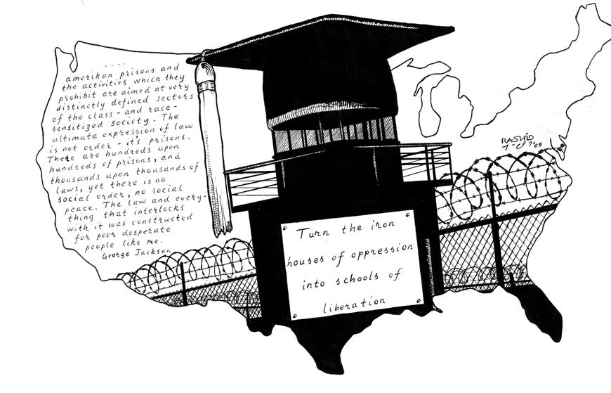 'Schools of Liberation' by Kevin 'Rashid' Johnson, web