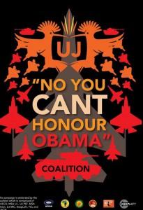 UJ-Univ-of-Johannesburg-No-you-cant-honour-Obama-Coalition-logo-205x300, NObama! South Africans prepare to protest Obama visit, World News & Views