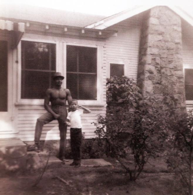 George, Jonathan Jackson last time he was home