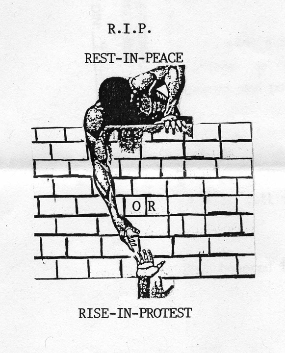 Drawing by an unknown prisoner