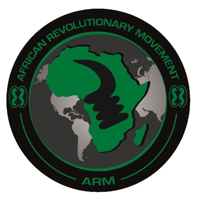 African Revolutionary Movement (ARM) logo, web