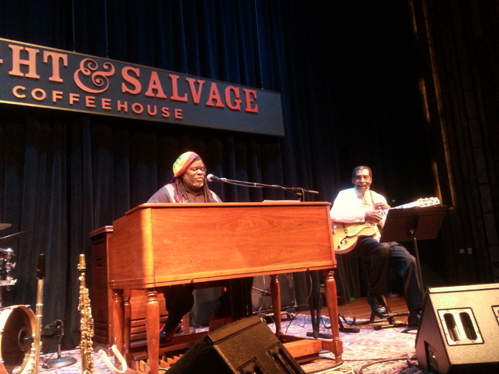 Doug Carn in concert at the Freight & Salvage Coffeehouse in Berkeley Aug. 9 – Photo: Block Report
