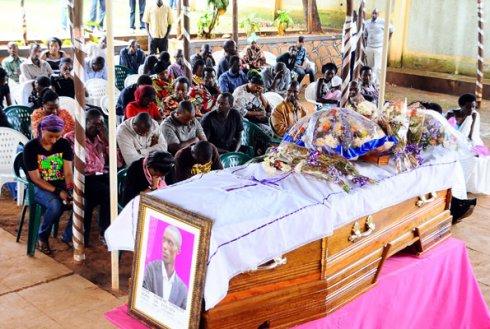 Funeral of Rwandan Journalist Charles Ingabire, 31, shot dead in Kampala, heads down hiding from photos 1211