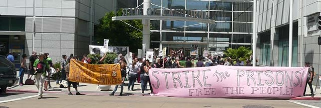 Hunger strike rally 'Strike the prisons, free the people' Oakland State Bldg 073113 by Urszula Wislanka