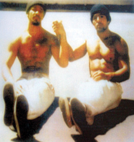 Khatari Gaulden, Hugo Pinell, San Quentin yard '60s from Kiilu