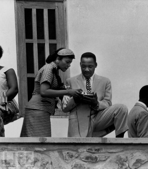 Martin Luther King, Coretta in Ghana 0357