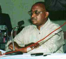 Rwandan Green Party VP Andre Kagwa Rwisereka