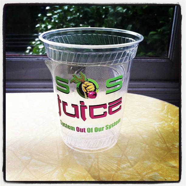 SOS Juice cup