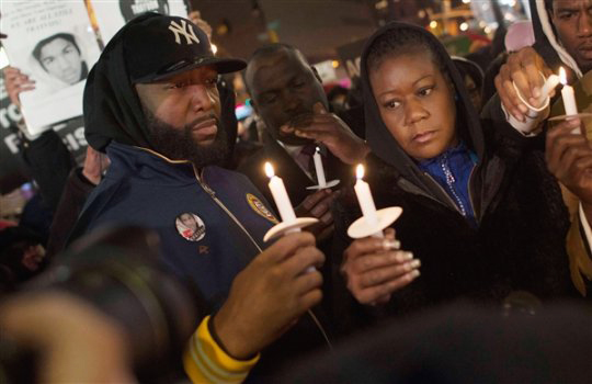Trayvon-Martin-vigil-Tracy-Martin-Sybrina-Fulton, For Trayvon Martin: How did the world get here?, National News & Views