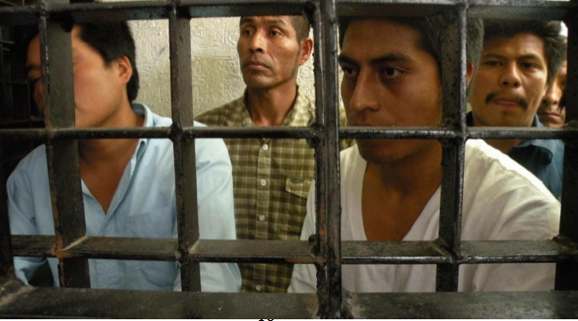Zapatistas jailed in Chiapas 2011