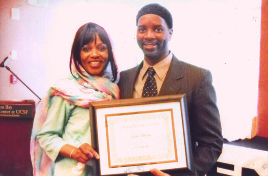 Ameena, Charles 'Talib' Brooks small business award from Renaissance