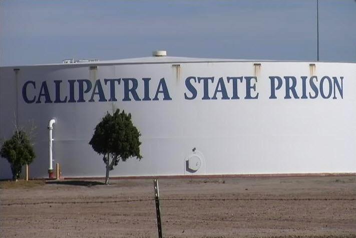 Calipatria State Prison sign
