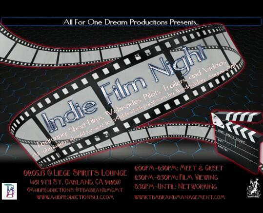 Indie-Film-Night, Oakland's Indie Film Night: an interview wit' director and organizer Diaunte Thompson, Culture Currents