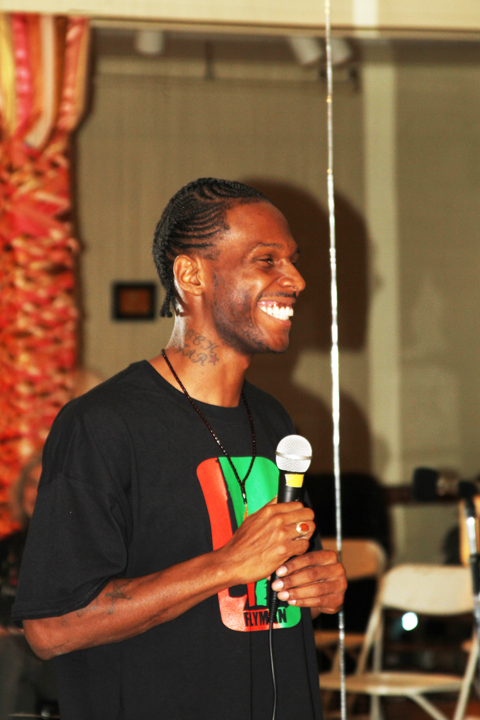 Malcolm Shabazz speaks, smile by BR, web