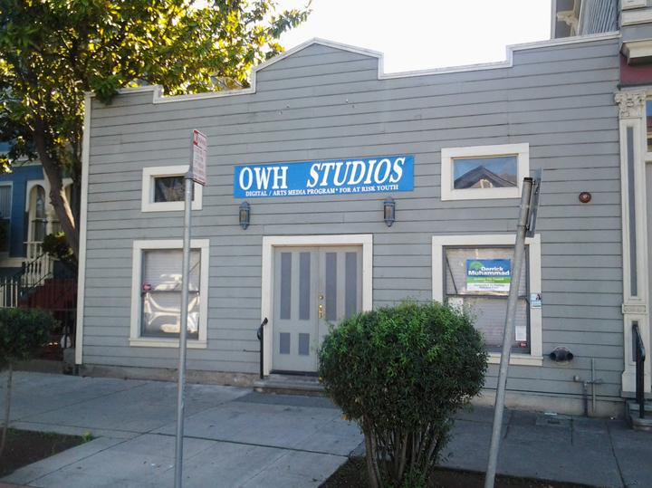 Overcomers With Hope Studios in Marcus Garvey Bldg, West Oakland, web