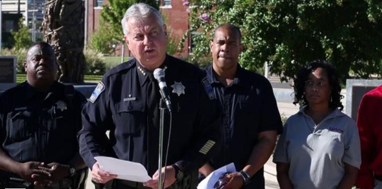 Tulsa PD Chief Chuck Jordan apologizes for TPDGÇÖs role 060121 Tulsa Race Riot at Black cultural event 092213