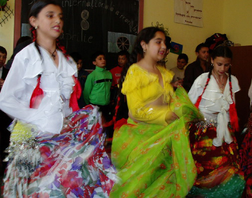 Young-Gypsy-women-dance-by-Chuck-Todaro, African Americans and the Gypsies: a cultural relationship formed through hardships, World News & Views