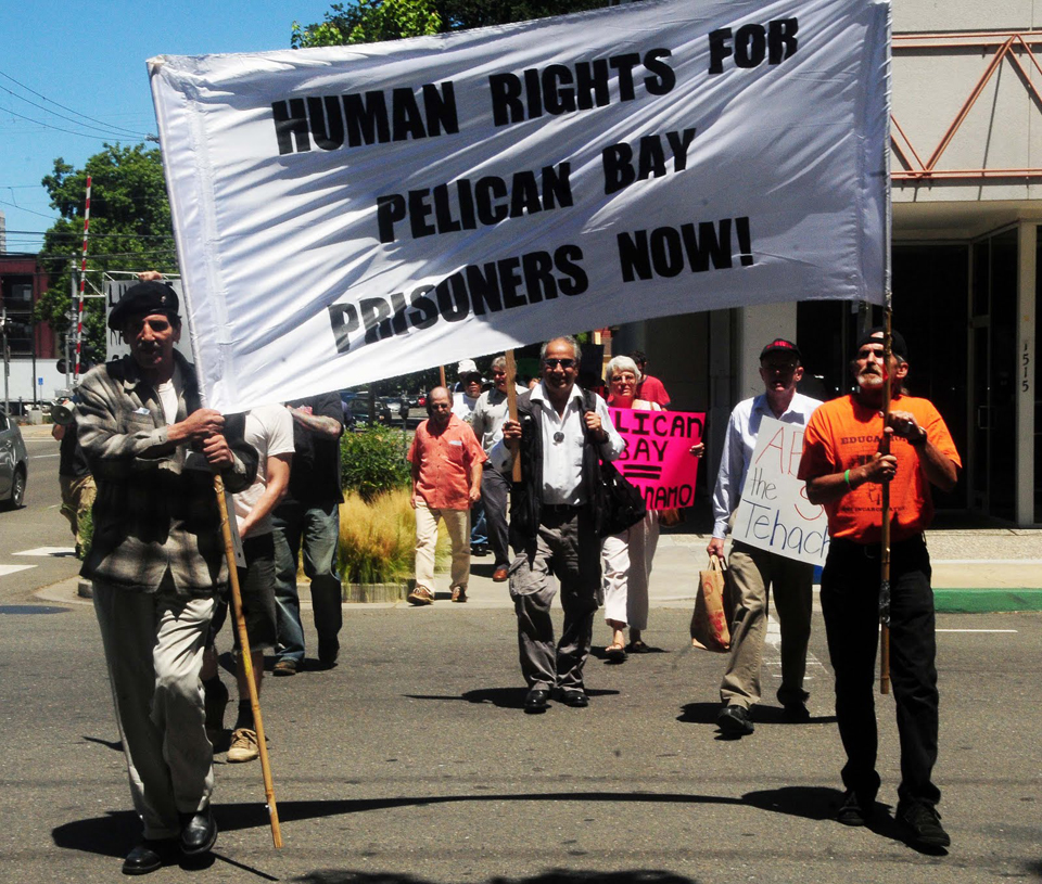 Hunger-strike-supporters-CDCR-HQ-Sacto-072511-by-Indymedia, Pelican Bay prisoner representatives meet with top Corrections staff, Behind Enemy Lines
