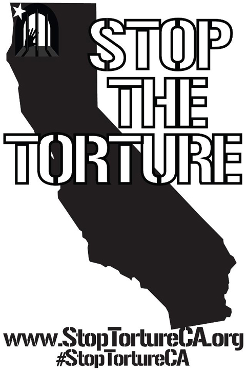 'Stop the Torture' graphic