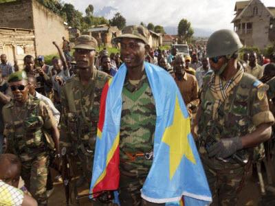 Col. Mamadou Ndala conquering hero 110413