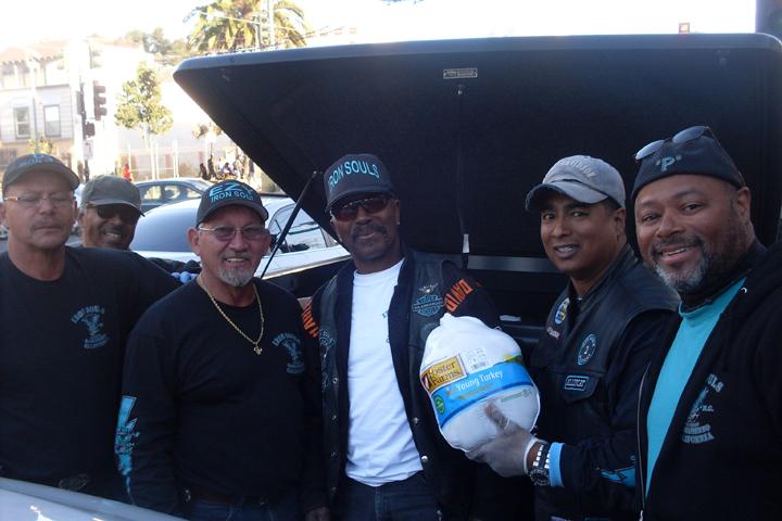Dollar-Store-Thanksgiving-Iron-Souls-Motorcycle-Club-DJ-l-Gil-c-Pete-r-112213-by-Lynn-Daniels-Tha-Community-w, Third Street Stroll ..., Culture Currents