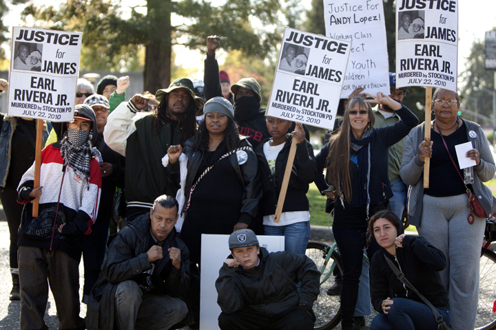 Justice-for-Andy-Lopez-march-James-Earl-Rivera-Jr.-contingent-102913-by-Malaika-web, Andy Lopez, 13, murdered by cop with 'mean gene', Local News & Views