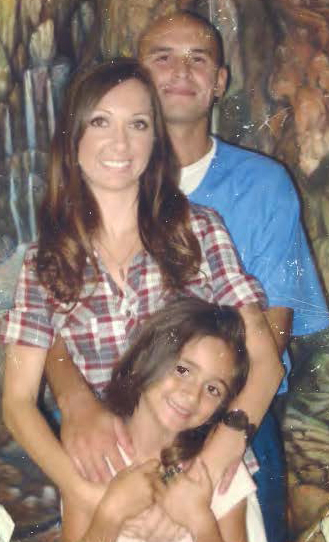 Robbie Riva, Kendra Castaneda and their daughter visit at Calipatria State Prison in 2010. For prisoners, family is the highest priority and visits the greatest joy. With no rehabilitation from CDCR, the love and encouragement of their family sustains them.