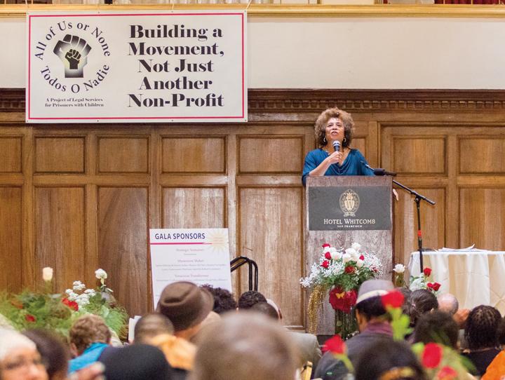 LSPC 35th Anniversary Angela Davis speaking, crowd 101913 by Aubrie Johnson, web