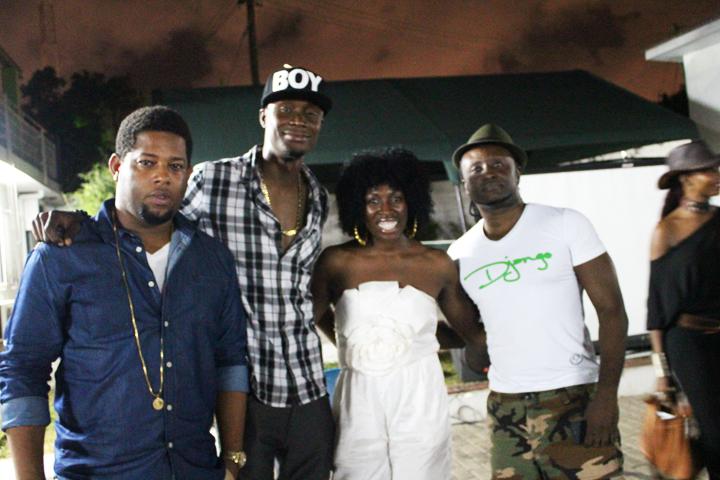 Muhammida El Muhajir, Hip Hop Ghana- DBlock, EL, Muhammida, Reggie Rockstone