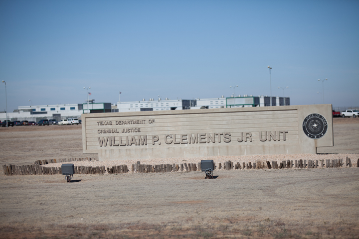Texas prison Clements Unit, Amarillo by Catholic Extension, web