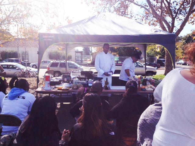 1st Saturdays cooking demonstration