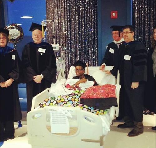 Alima Kasongo awarded BS degree at National ChildrenGÇÖs Hospital