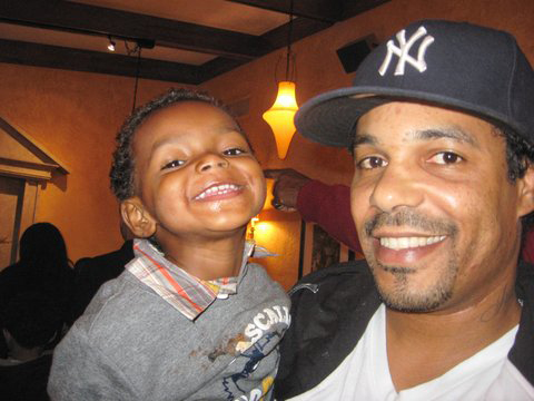 Juelz and dad, Robert Grimes, web