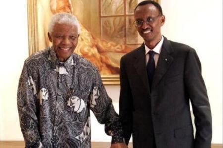 Mandela, Kagame