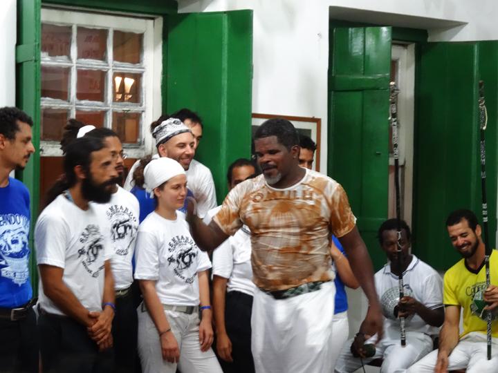 Mestre-Jogo-De-Dentro-Capoeira-Mandinga-Salvador-Bahia-spars-with-capoeiristas-1213-by-Wanda-web, Salvador, Bahia, Brazil: Africa in the Americas, Culture Currents