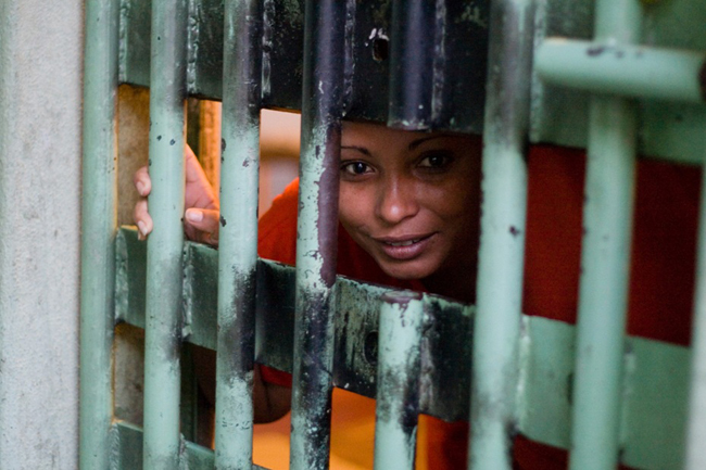 Woman prisoner, Brazil by Julie Schwietert, web