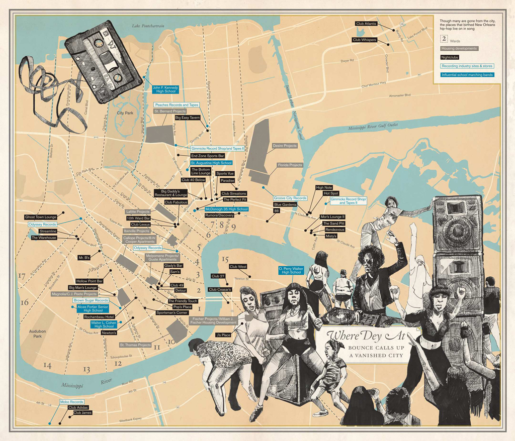 'Where Dey At- Bounce Calls Up a Vanished City' from 'Unfathomable City'